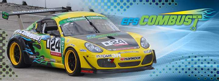 EFS Combust Cayman Race Car